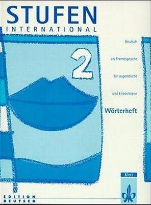 Stufen international, neue Rechtschreibung, Wörterheft zu Tl. 2.