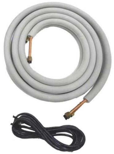 COPPER Ductless Mini Split Line Set + Wire Connection Kit - 1/4, 3/8, 1/2, 5/8