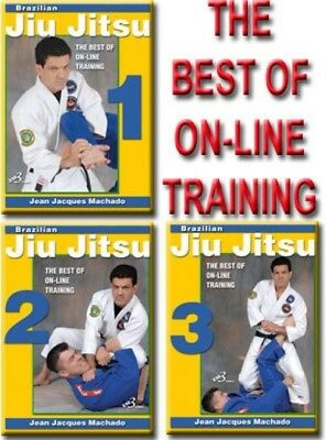 BJJ THE BEST OF ON-LINE TRAINING VOL. 1-2-3 DVD Set