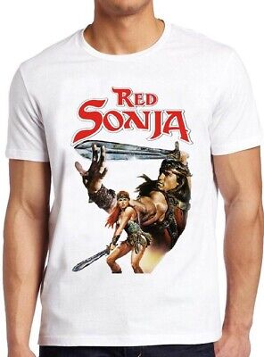 80 ' S Tee (Red Sonja T Shirt Schwarzenegger 80s Movie Film Conan Vintage Gift Tee 102)