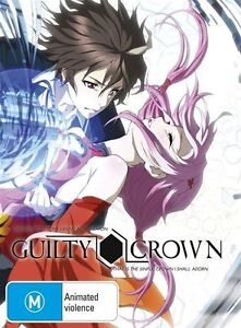 Guilty Crown : Collection 1 (Blu-ray, 2013, 2-Disc Set)-REGION B-Free postage