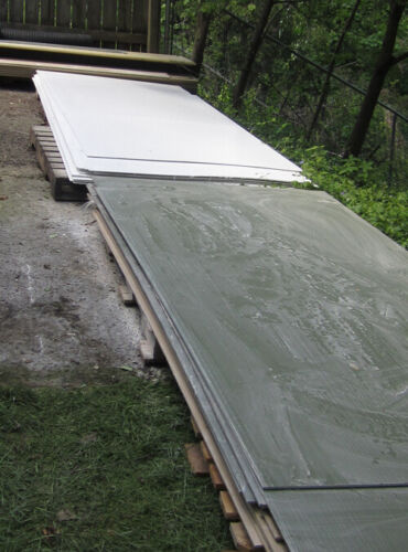 """Fiberglass Sheet 0.125"""" (1/8 inch thick) - White, cut to size, sold by sq ft"""