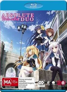 Absolute Duo: Complete Series NEW B Region Blu Ray