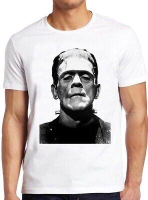 Frankenstein T Shirt Halloween Horror Movie Cult Classic Film Cool Gift Tee - Halloween Horror Filme