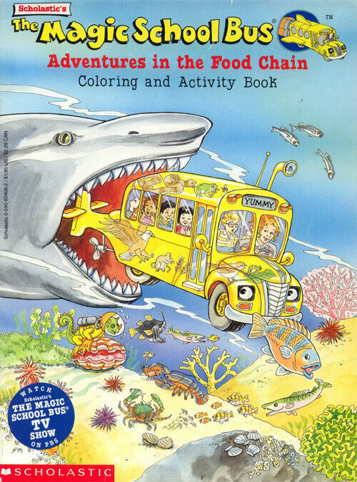 - Magic School Bus Coloring Book RARE EBay