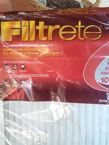 Furnace Filter 3 pack new 3M Filtrete 20x25x1 Allergen Reductio