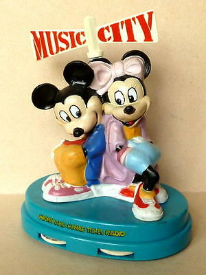 Mickey and Minni Tunes Radio, MUSIC CITY, batteriebetrieben