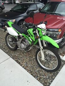 2009 Kawasaki KLX250s Street Legal