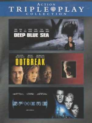 Action Triple Play Collection (Deep Blue Sea / Outbreak / Sphere) (3-DVD) ()