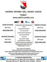 Eastern Ontario Ball Hockey League