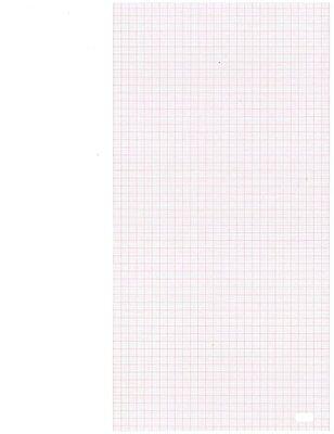Ekg Chart Paper For Hewlett Packard Pagewriter I Ii Iii 216 X 280 X 200 Pk 10