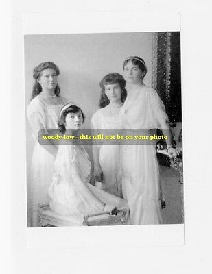 mm370 - Grand Duchesses 'OTMA'  Romanov in 1914 - Royalty photo 6x4""