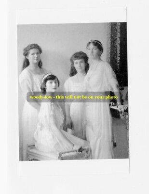 "mm370 - Grand Duchesses 'OTMA'  Romanov in 1914 - Royalty photo 6x4"""