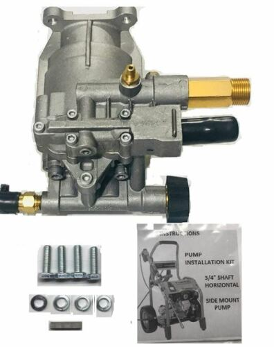 Homelite New 2700 PSI Pressure Washer Pump Replaces 308418007 Models HL252300, +