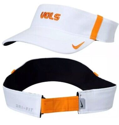 Tennessee Volunteers Hat (New Nike Tennessee Volunteers Dri-Fit Aerobill Sideline Visor Hat Cap Vols)