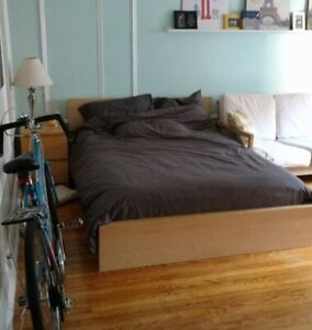 Malm Double/Full Bed Frame