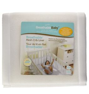 Mesh crib bumper pads- NEW in packaging