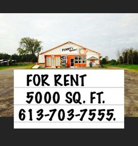 417 Hwy exit 35 Alexandria 5000 sq ft