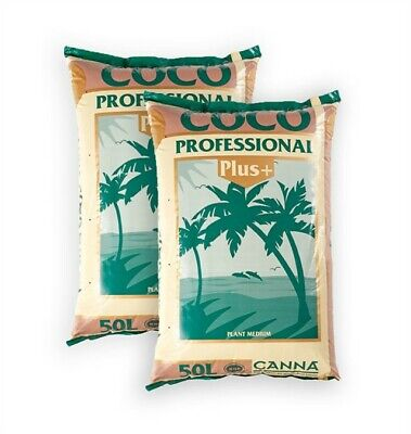 2 x Canna Coco Professional Plus 50L Bags Growing Medium  *FREE DELIVERY
