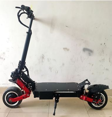 SUN 3600w/60v Two Wheel 11in. Folding Off Road Electric Scoo