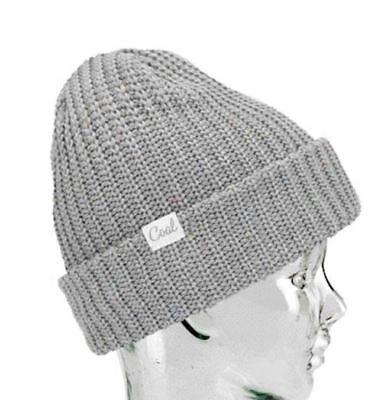 3790c839 Coal Headwear THE EDITH Womens Cuffed or Slouchy Beanie Heather Grey NEW
