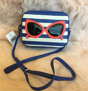 Kate Spade purse with sunglasses decoration