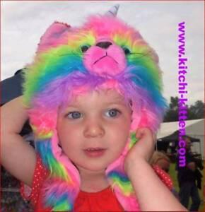 KITCHI - KITTEN (Rainbow Unicorn Butterfly Kitten)