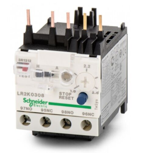 Schneider Electric LR2K0314 Overload Relay 5.5A to 8A
