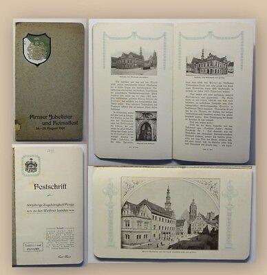 Eberlein Pirnaer Jubelfeier und Heimatfest 1905 selten Ortskunde Geografie xy