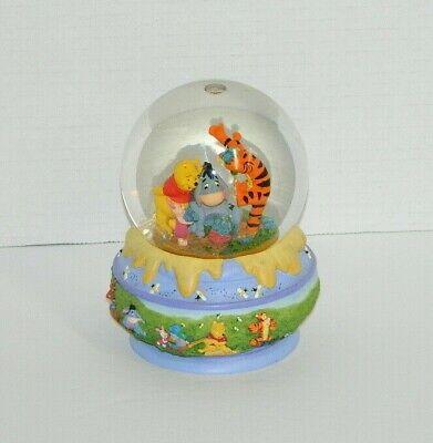 Disney Disneyana Winnie The Pooh Tigger Eeyore Piglet Snow Globe Baby Room Decor