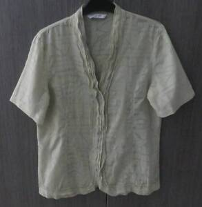 W.LANE SOFT GREEN WOMANS SIZE 10 SHIRT + CAMISOLE Barnsley Lake Macquarie Area Preview