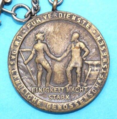 Medaille 1914 Deutsches Reich BRANDENBURG BERLIN Für Verdienste Genossenschaft