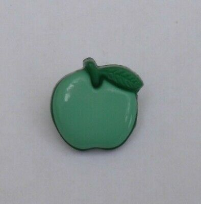 Apple Shaped Shanked Buttons, G397823, Pack 20, 15mm, £3.00
