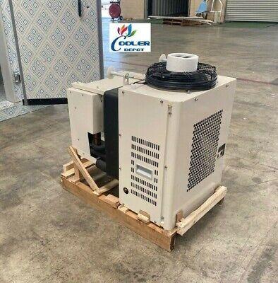 New Walk-in Cooler Freezer Refrigeration Cooling System Compressor 1 Hp