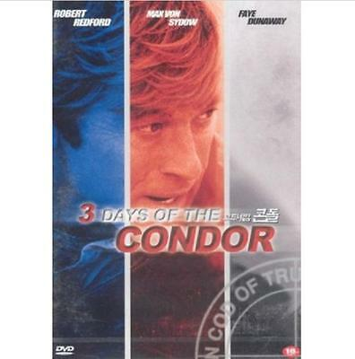3 Three Days Of The Condor (1975) DVD - Robert Redford (New & Sealed)