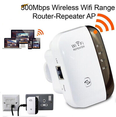300Mbps WIFI Repeater Wireless-N 802.11 AP Router Extender Signal Booster 01 for sale  Shipping to Nigeria