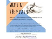 CREATIVE WRITING: WRITE AT THE MUSEUM OF CHILDHOOD