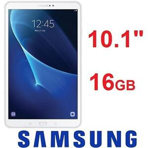 """NEW OB SAMSUNG GALAXY TAB A 16GB WHITE - 10.1"""" - ANDROID - ELECTRONICS 101722667"""