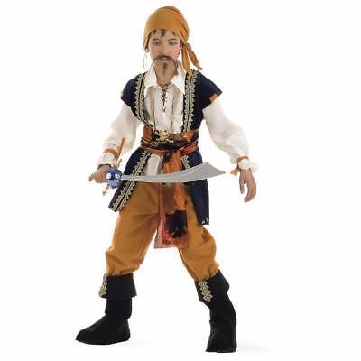 Pirat Seeräuber Kinderkostüm Käpitän Herrscher der Meere - Junge Cher Kostüm