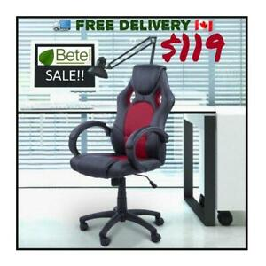 Brand New Racing Red Computer Chair | Executive Chairs From $79
