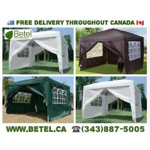 For Sale | 10x10 Easy Pop Up Wedding Party Tent | $149 INCLUDING DELIVERY