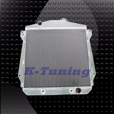 3 ROWS CORES ALL ALUMINUM RADIATOR FOR 43 48 CHEVY DR Fleetline Fleetmaster