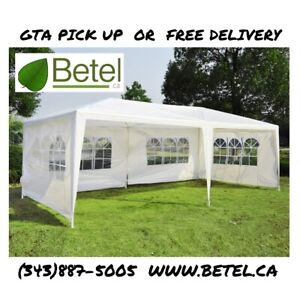 10x20ft Wedding Party Canopy Tent with Removable Sidewalls