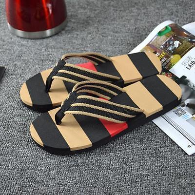 Summer EVA Man Shoes Fashion Flip Flops Sandals Beach Home Flat Shoes  sy