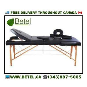WWW.BETEL.CA | 4inch Premium Portable Folding Mobile Reiki Tattoo Massage Table Bed