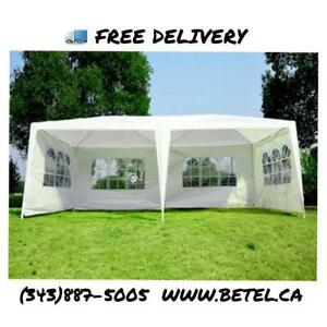Brand New 10x20 ft Wedding Party Canopy Gazebo Tents for Sale| FREE Delivery!! - 20x10 ft Party Tent Sale