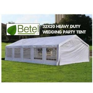 Sale | 32x20 Large Wedding Party Event Tent • 20x32 Heavy Duty Steel Tents