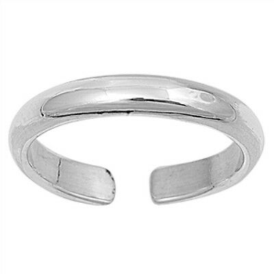 Plain 3 mm Toe Ring Sterling Silver 925 Best Choice Jewelry USA Seller