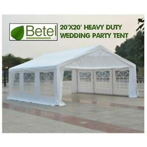 Sale | 20x20 Large Heavy Duty Wedding Party Tent on Steel Frame - 20 x 20 Sale