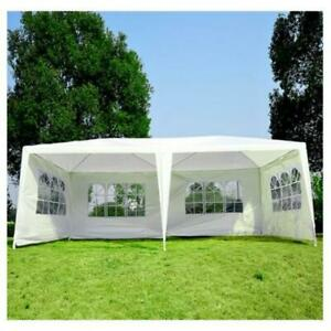 TRENDALS® ALL INCLUSIVE PRICE | 10x20 ft Wedding Party Gazebo Tents White SPRING SALE